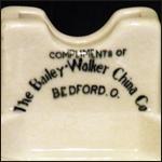 Bailey-Walker Advertising Matchstand