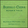 Buffalo China Buyer's Folio
