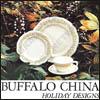 Buffalo China Holiday Designs Catalog