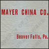 Mayer China Co. Catalog and Price Schedules