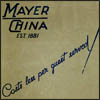 Mayer China, Book of Decorations No. 10