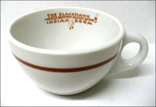 Blackhawk Restaurant Indian Room-cup