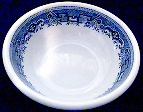 Blue Willow 4-bowl