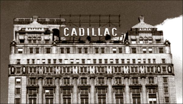 Book Cadillac Hotel 2-pc
