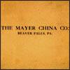 Mayer China Pattern Book