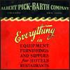 Albert Pick-Barth Company General Catalog No. E-32 - Vitrified China Excerpts