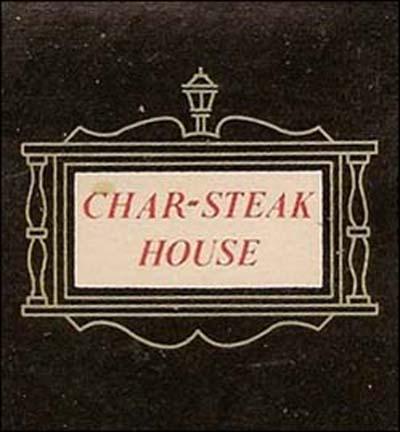 Char-Steak House-matchbook1