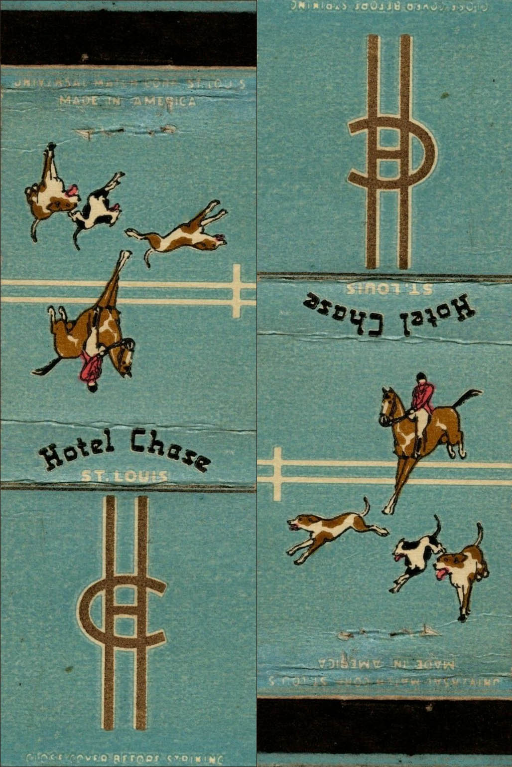 Chase Hotel-matchbook2