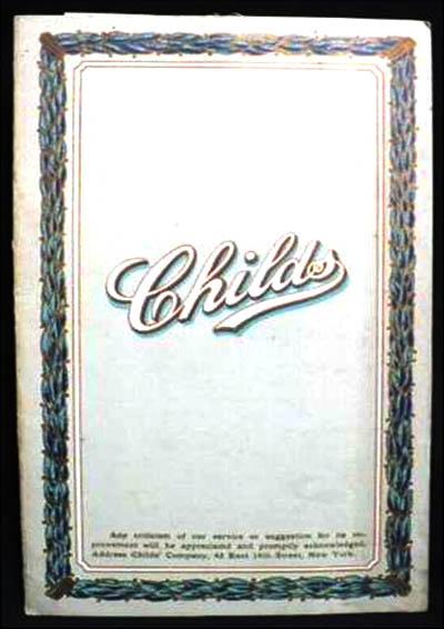 Childs Restaurant 2-menu-page1