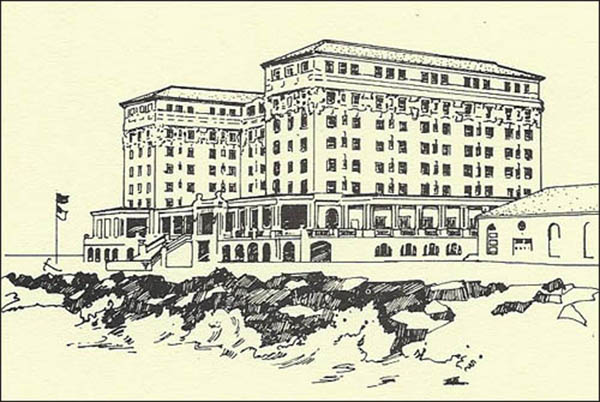 Christian Admiral Hotel-drawing