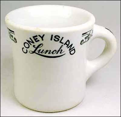 Coney Island Lunch-mug