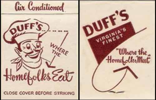 Duff's -matchbook
