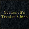 Scammell's Trenton China Vitrified with Key to Price List 1926