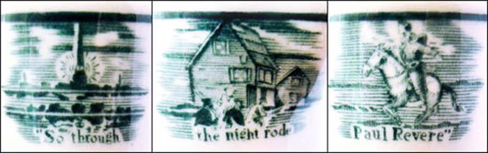 Clark's Paul Revere House-creamer-detail
