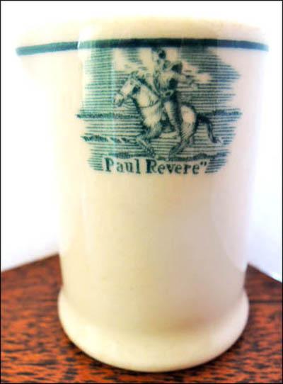 Clark's Paul Revere House-creamer