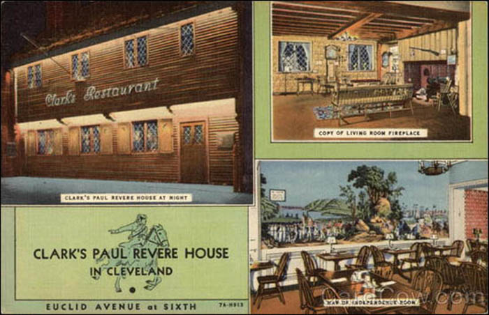 Clark's Paul Revere House-pc