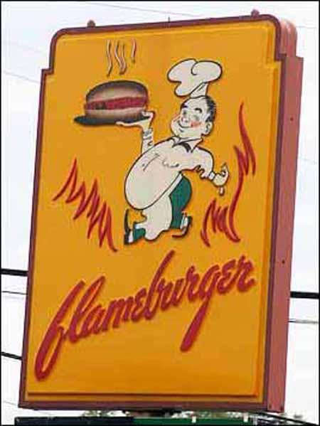 Flameburger-sign