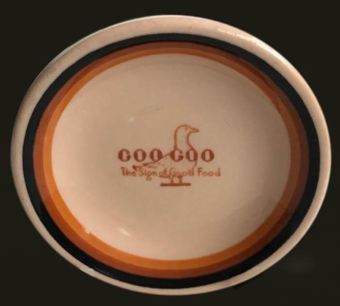 Goo Goo Restaurant-butter pat