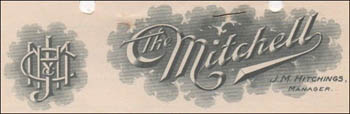 J. M. Hitchings Co.-stationery