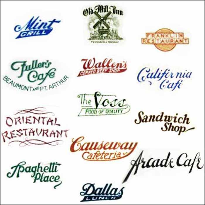 Jackson Logo Sample Plate-topmarks
