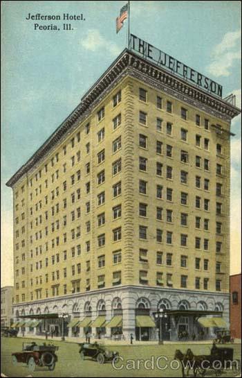 Jefferson Hotel - Peoria, IL-pc