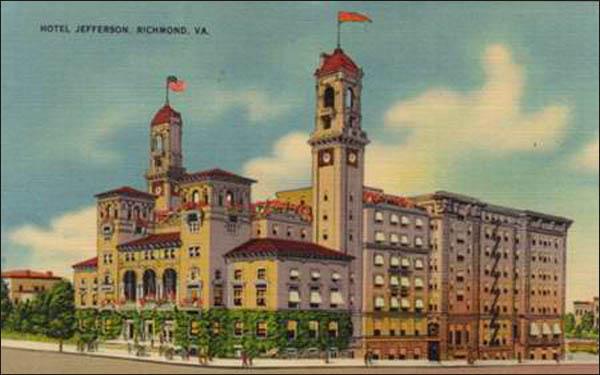 Jefferson Hotel - Richmond, VA 2-pc