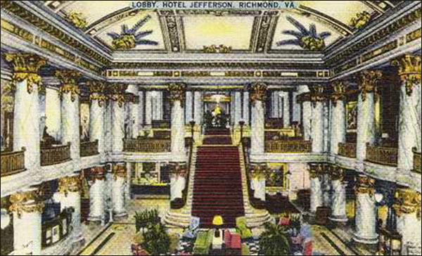 Jefferson Hotel - Richmond, VA-pc