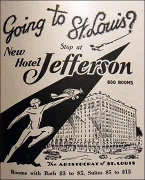 Jefferson Hotel - St. Louis, MO 2-ad