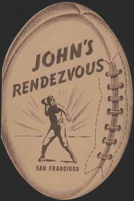 John's Rendezvous-menu