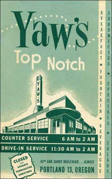 Yaw's Top Notch Restaurant-ad