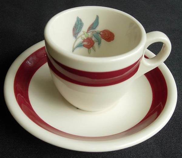 Yellow Bird -cup-saucer
