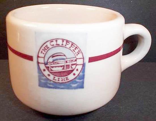 Wisconsin & Michigan Steamship Co.-cup