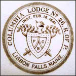 Knights of Pythias – Columbia Lodge
