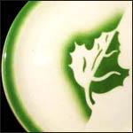 Leaf Green Airbrushed