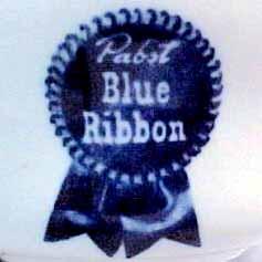 Pabst Blue Ribbon Beer -detail