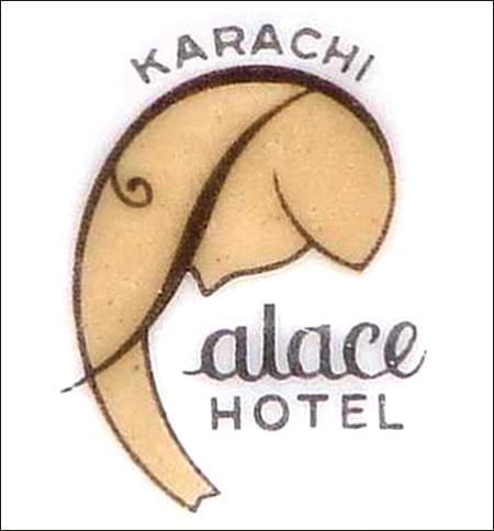 Palace Hotel, Karachi -detail