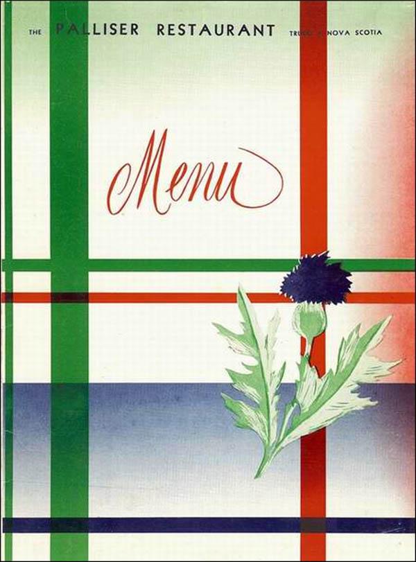 Palliser Restaurant -menu