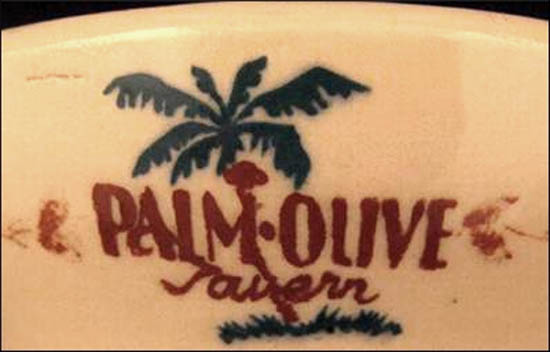 Palm Olive Tavern -detail