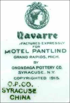 Pantlind Hotel - Navarre -bs