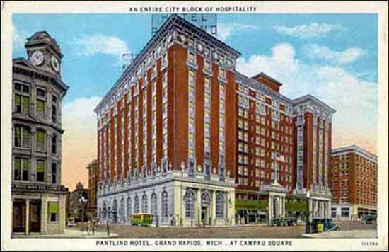 Pantlind Hotel - Navarre -pc