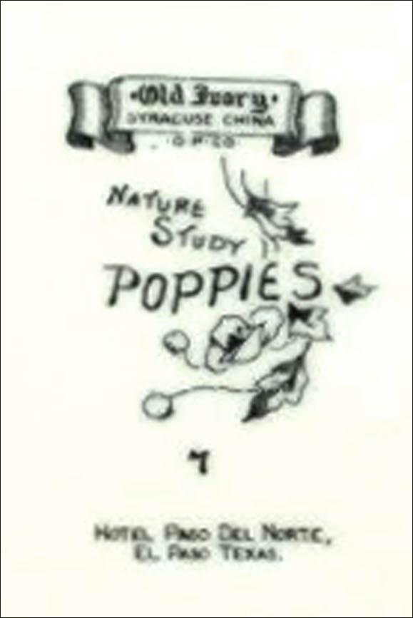 Paso Del Norte Hotel-Poppies 7-bs