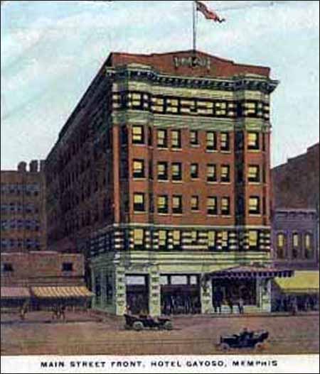 Peabody Hotel - Gayoso Hotel -pc