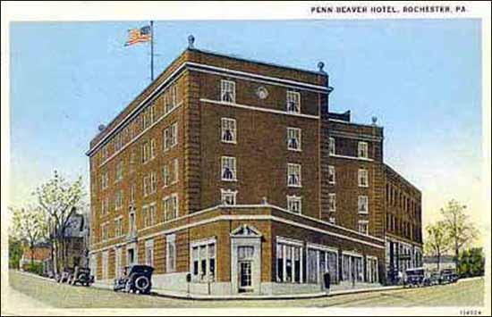 Penn-Beaver Hotel -pc