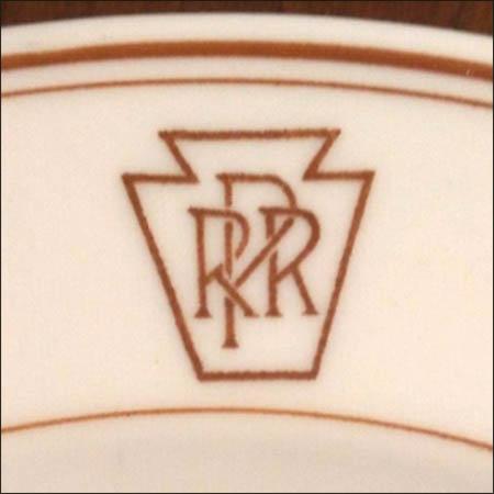 Pennsylvania Railroad PRR Keystone -detail