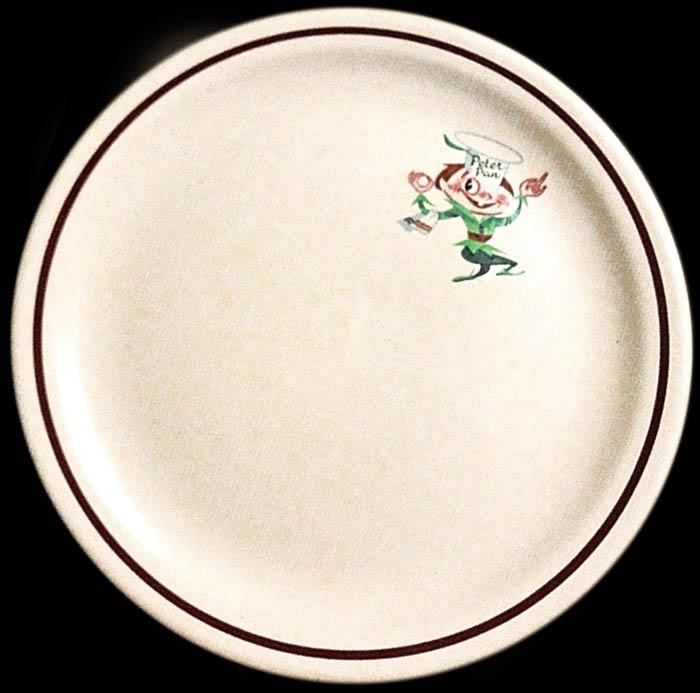 Peter Pan Snack Shops -plate-one-elf