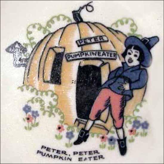 Peter Peter Pumpkin Eater -detail