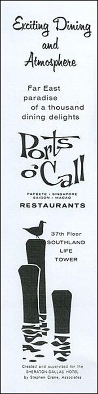 Ports O' Call Restaurants -ad
