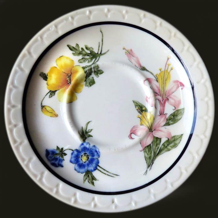 Prairie Mountain Wildflowers-saucer-Stephanie Michaels Carr