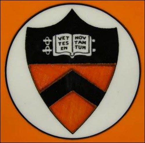 Princeton University -plate 2-detail