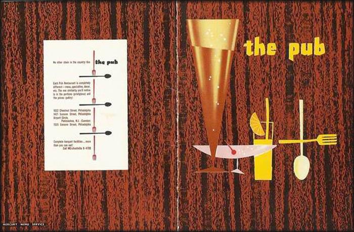 Pub -menu 1